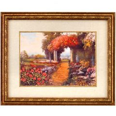 3100 4150 Garden Path Through Columns – by R.Atkinson Fox