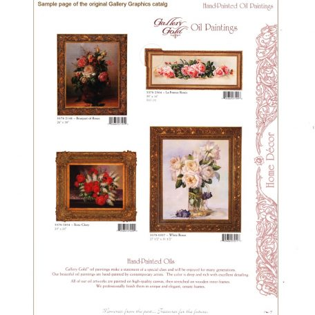 3378 Sample page of Gallery Graphics Catalog