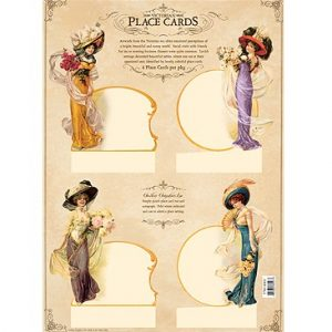 5710 4002 Victorian Place Cards