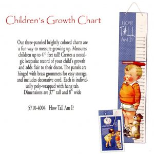 5710 4004 Children's Growth Chart