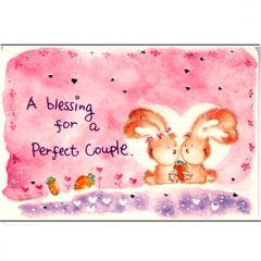 K134 A Blessing for a Perfect Couple