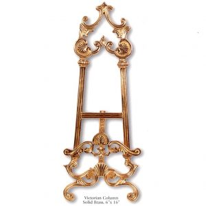 1504 0019 Solid Brass Easel